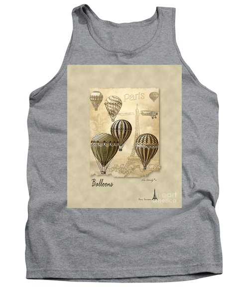 Balloons With Sepia Tank Top
