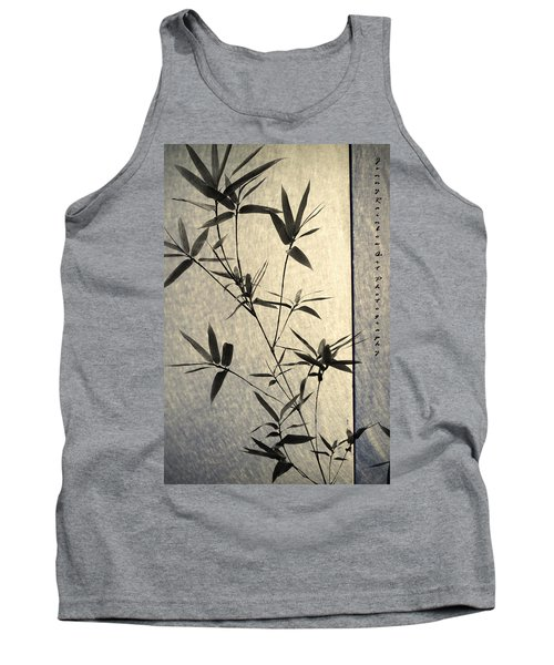 Bamboo Leaves Tank Top by Jenny Rainbow