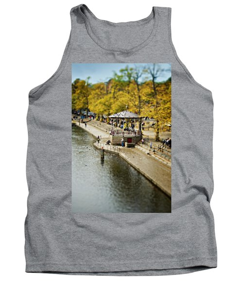 Tank Top featuring the photograph Bandstand In Chester by Meirion Matthias