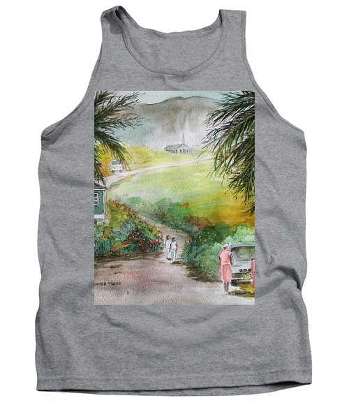Barbados Tank Top by Frank Hunter