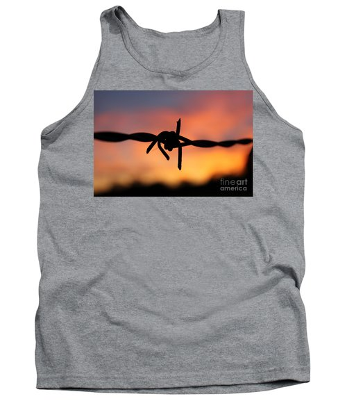 Barbed Silhouette Tank Top by Vicki Spindler