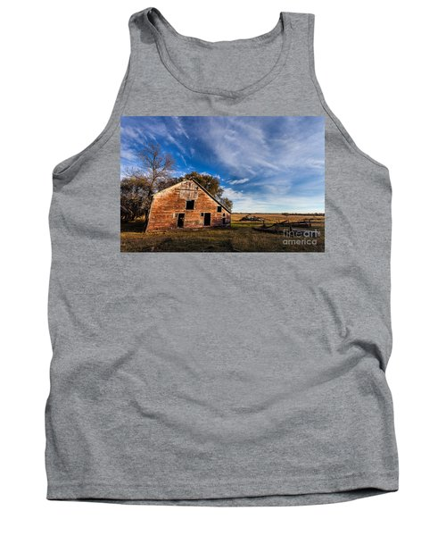 Barn In The Midwest Tank Top by Steven Reed