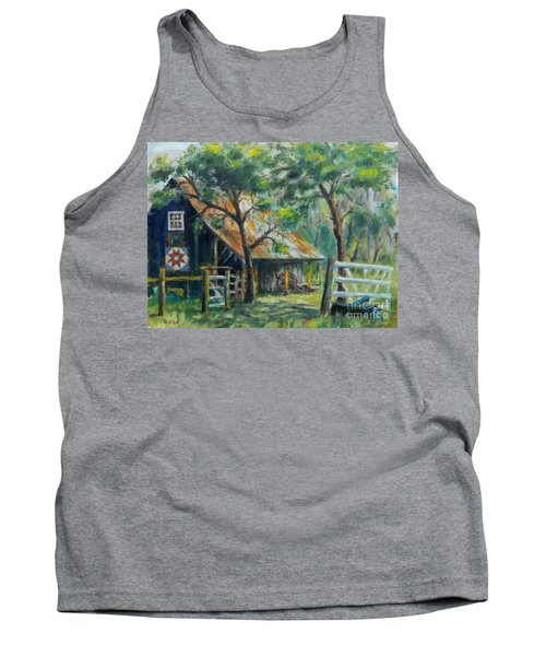Barn Quilt Tank Top by William Reed