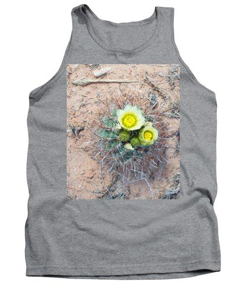 Barrel Cactus Blossoms Tank Top