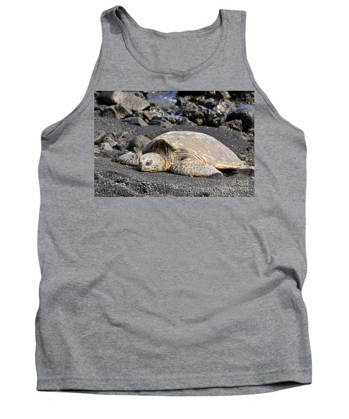 Tank Top featuring the photograph Basking In The Sun by David Lawson