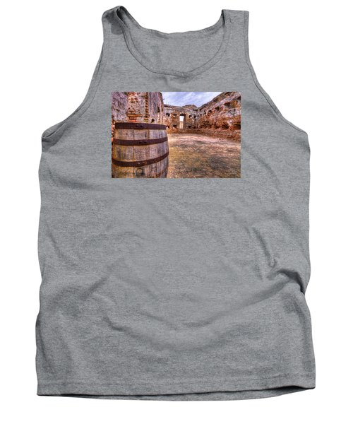 Tank Top featuring the photograph Battalion Barrell by Tim Stanley