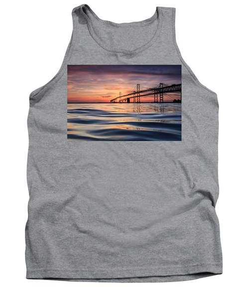 Bay Bridge Silk Tank Top