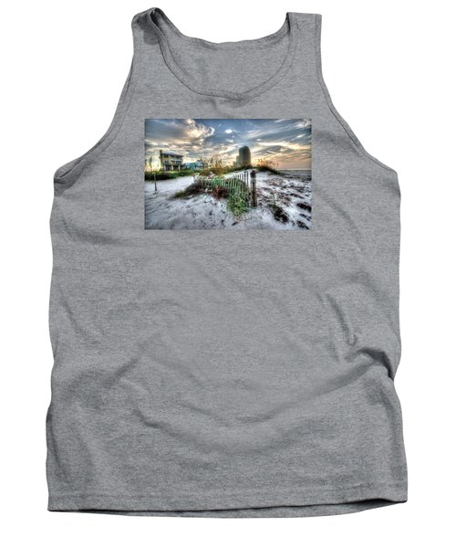 Beach And Buildings Tank Top