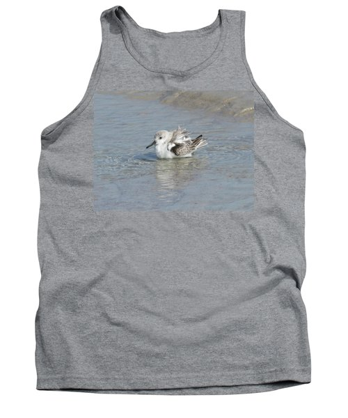 Beach Bird Bath 4 Tank Top