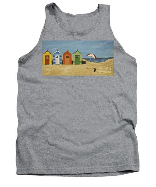Beach Huts Tank Top