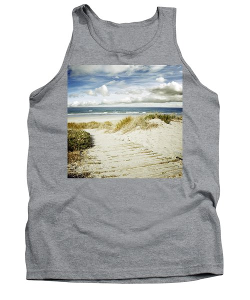 Beach View Tank Top by Les Cunliffe