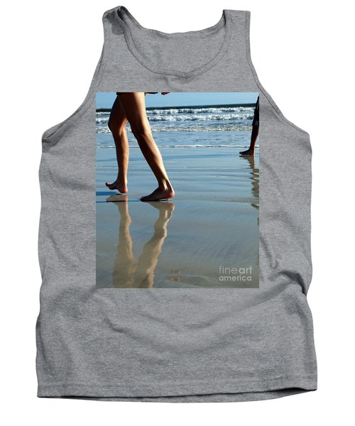 Tank Top featuring the photograph Beat Feet by Irma BACKELANT GALLERIES