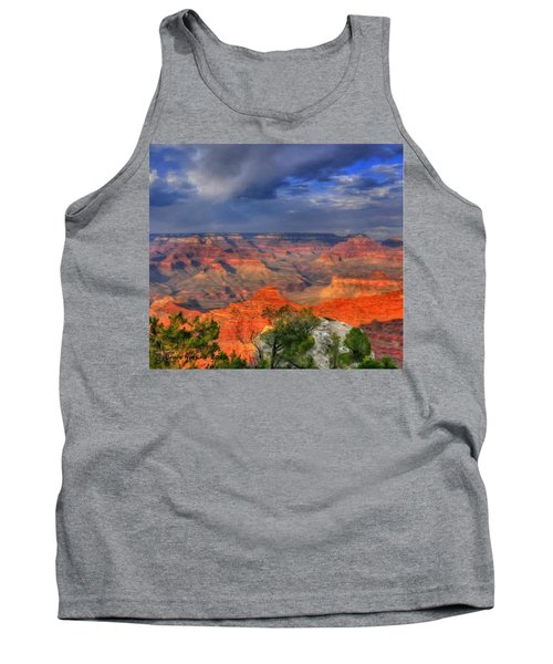 Tank Top featuring the painting Beautiful Canyon by Bruce Nutting