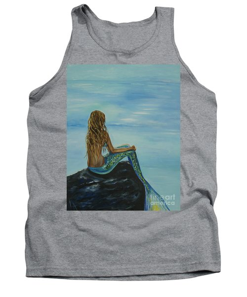 Beautiful Magic Mermaid Tank Top