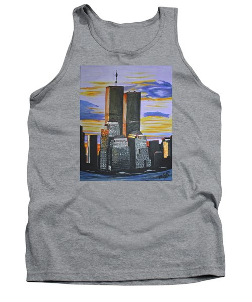 Before The Fall Tank Top by Donna Blossom