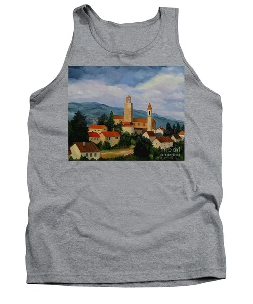 Bell Tower Of Vinci Tank Top
