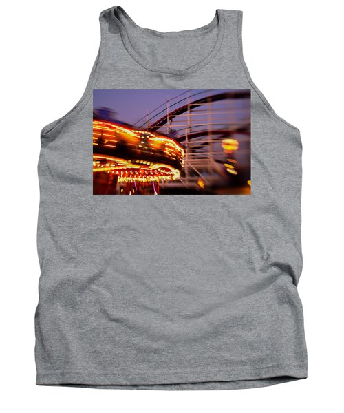 Did I Dream It Belmont Park Rollercoaster Tank Top