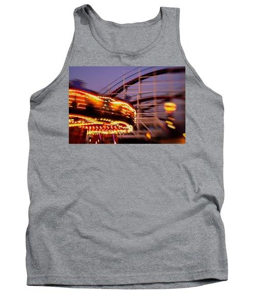 Did I Dream It Belmont Park Rollercoaster Tank Top