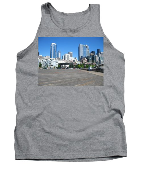 Below The Line Tank Top