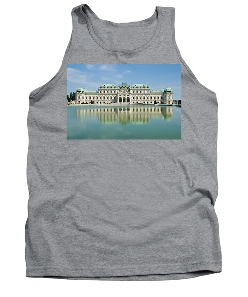 Tank Top featuring the photograph Belvedere Palace by Jeremy Voisey