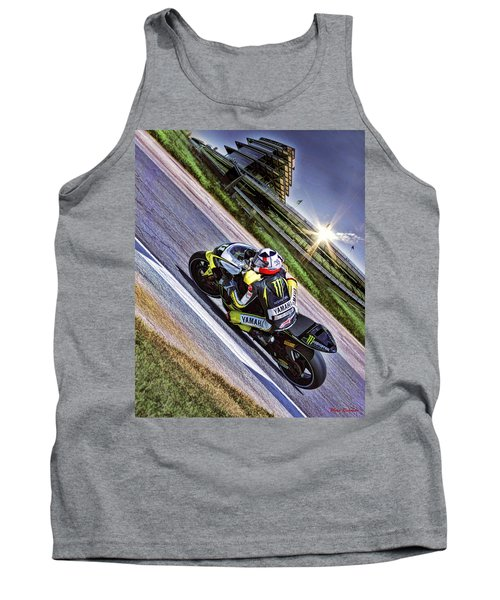 Ben Spies At Indy Tank Top