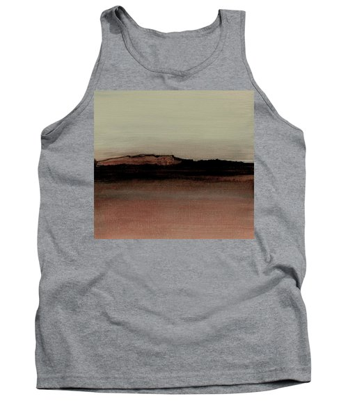 Between The Woods And Frozen Lake  Number 1133-10 Tank Top