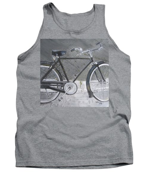 Bicycle In Rome Tank Top