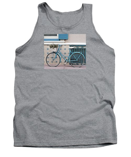 Vintage Bicycle Photography - Bicycles Are Not Only For Summer Tank Top