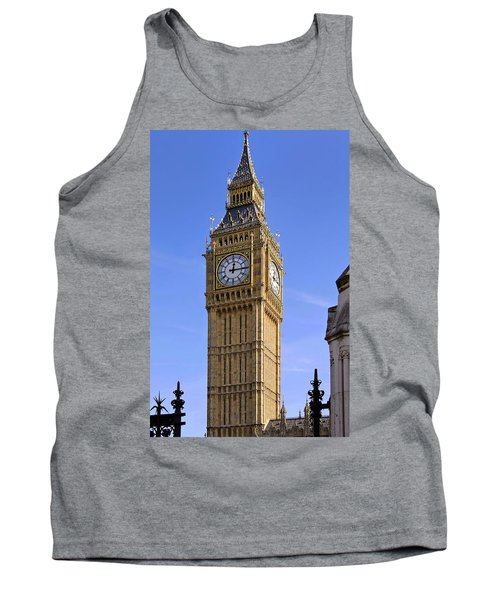 Tank Top featuring the photograph Big Ben by Stephen Anderson