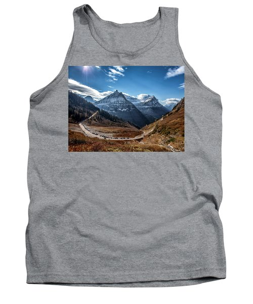 Tank Top featuring the photograph Big Bend by Aaron Aldrich