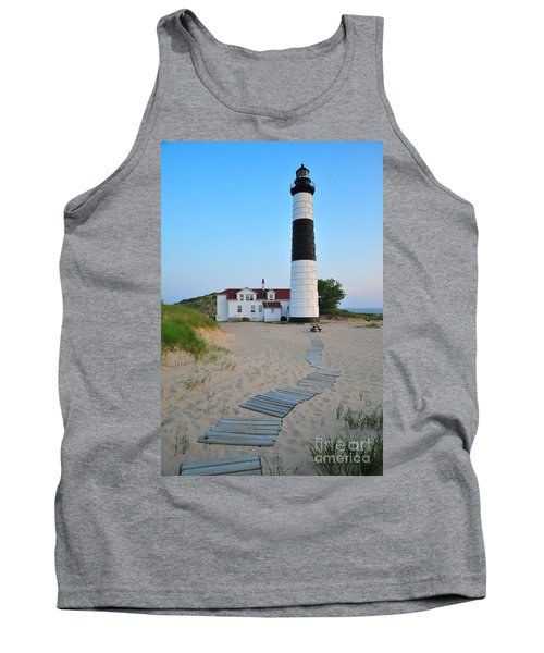 Big Sable Point Great Lakes Lighthouse Tank Top