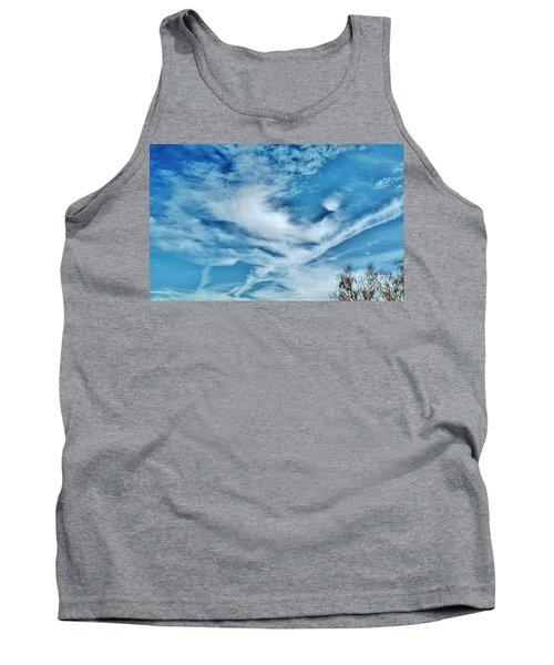 Bird Cloud Soaring By Tank Top