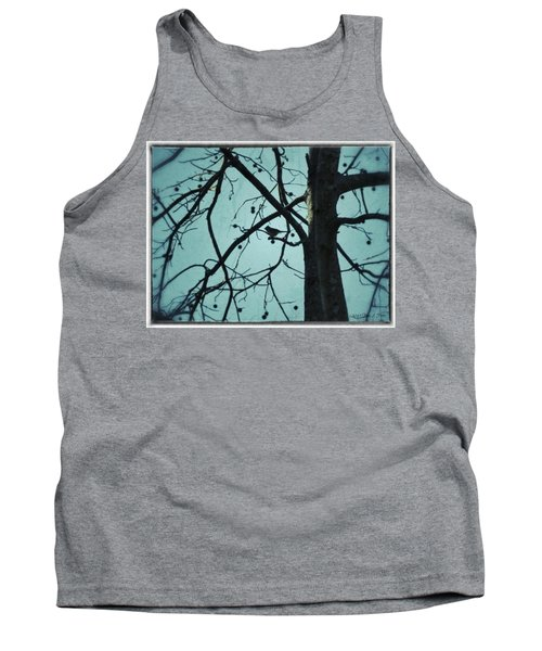 Tank Top featuring the photograph Bird In Tree by Tara Potts