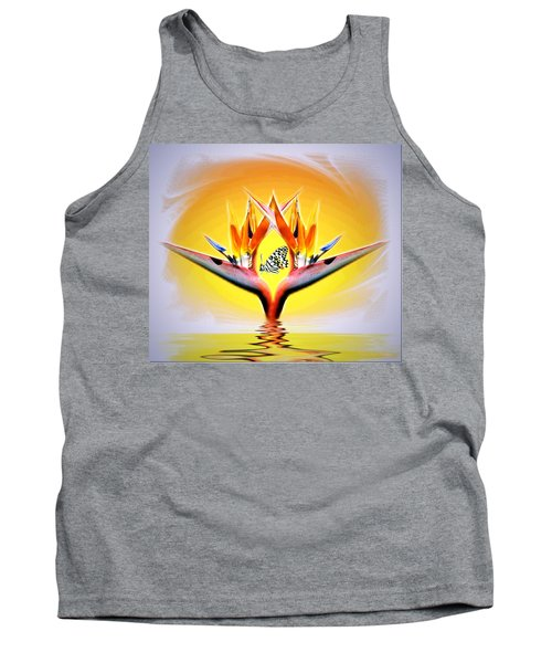 Tank Top featuring the photograph Bird Of Paradise by Joyce Dickens