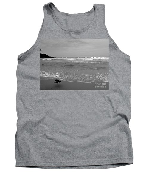 Bird On Kovalam Beach Tank Top