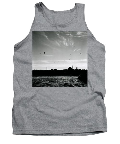 Birds Over The Golden Horn Tank Top