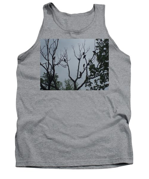 Tank Top featuring the photograph Birds by Fortunate Findings Shirley Dickerson