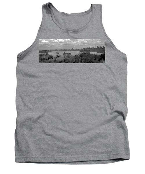 Tank Top featuring the photograph Black And White Sydney by Miroslava Jurcik