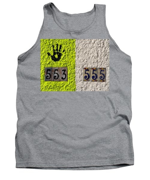 Tank Top featuring the photograph Black Hand by Joe Kozlowski