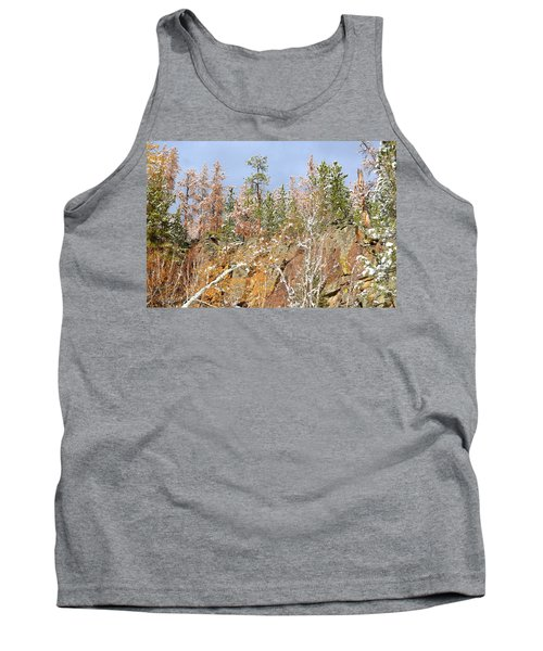 Tank Top featuring the photograph Black Hills Color Palette by Clarice  Lakota