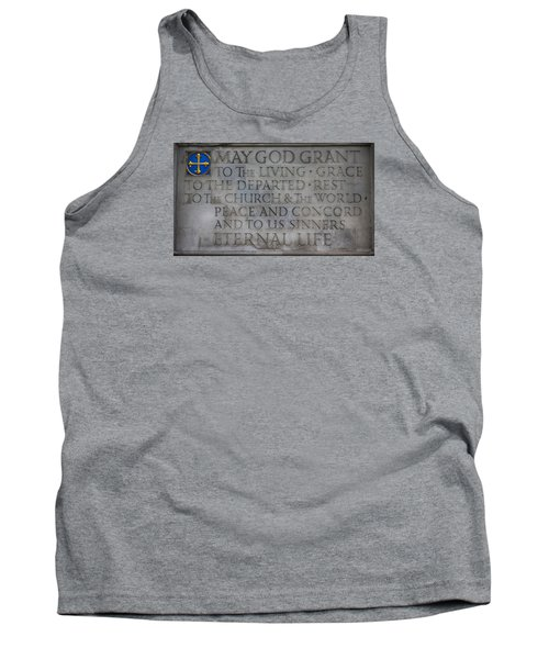 Blessing Tank Top by Stephen Stookey