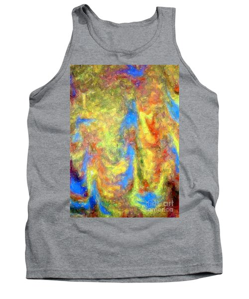Blue Ascension Tank Top
