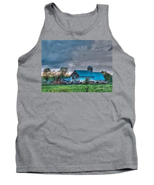 Blue Barn Tank Top