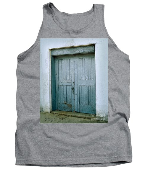 Blue Doors On Brewer Street Tank Top