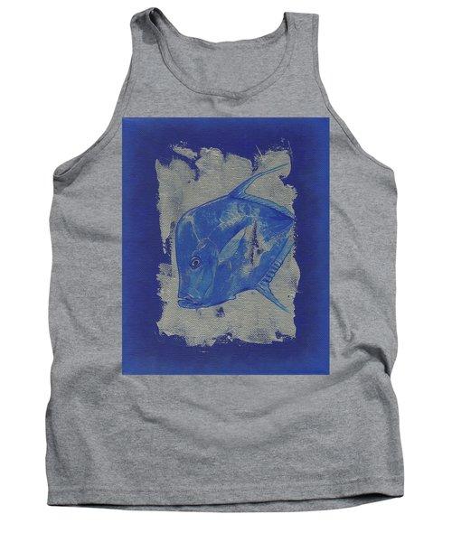 Blue Fish Tank Top