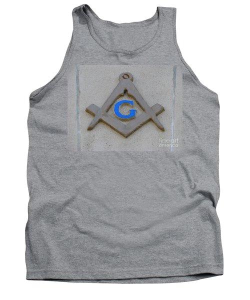Blue G Tank Top