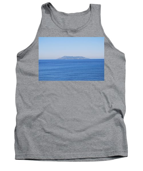 Tank Top featuring the photograph Blue Ionian Sea by George Katechis