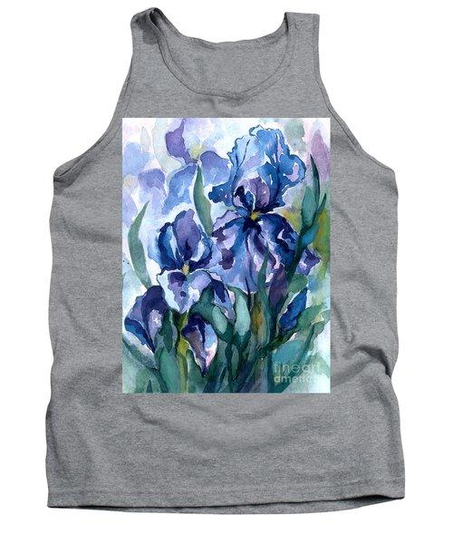 Blue Iris Tank Top
