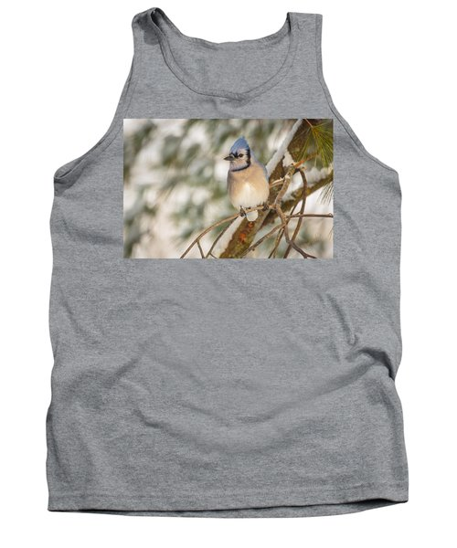 Blue Jay Tank Top by Everet Regal