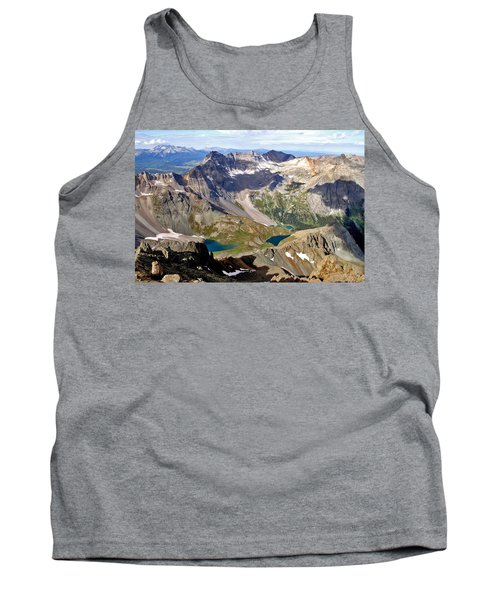 Tank Top featuring the photograph Blue Lakes Beauty by Jeremy Rhoades